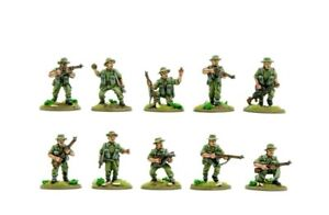 Metal Warlord games winter Bolt Action British/infantry Section