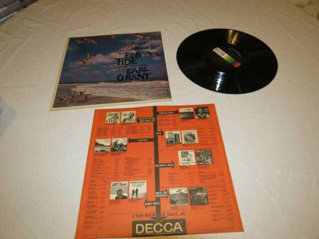 Decca EBB Tide Instrumental favorites Earl Grant LP RARE record vinyl album