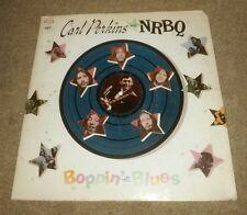 Carl Perkins & NRBQ Boppin' the Blues Album LP Vinyl 1969 Columbia Records RARE!