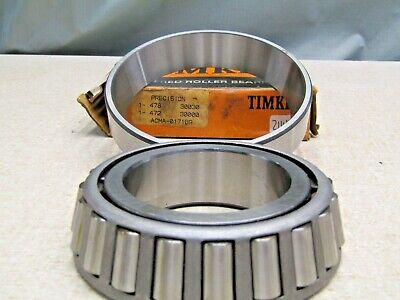 Single Cup Brand New Timken 472 Tapered Roller Bearing