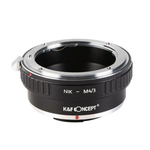 K/&F Adapter Nikon F Objektiv auf M43 MFT Mount Kamera NIK M4 3
