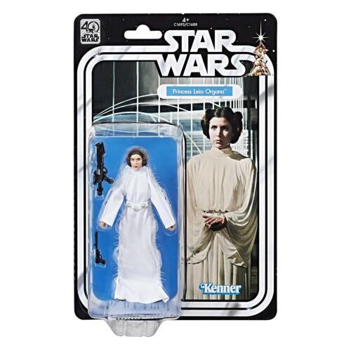 Star Wars Princesse Leia Organa Noir Série 40th Anniversary Figure