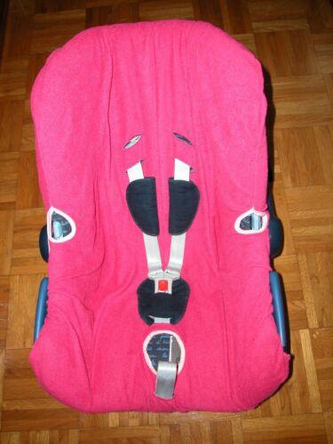Sommerbezug Schonbezug Frottee für Maxi-cosi Citi City NEU pink