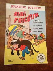 Bibi-fricotin-et-les-conquerants-1961-pierre-lacroix-BD-ancienne