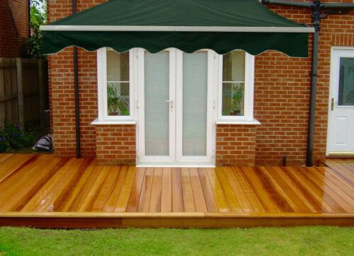 Buy Manual Awning Canopy Outdoor Patio Garden Sun Shade Retractable Shelter