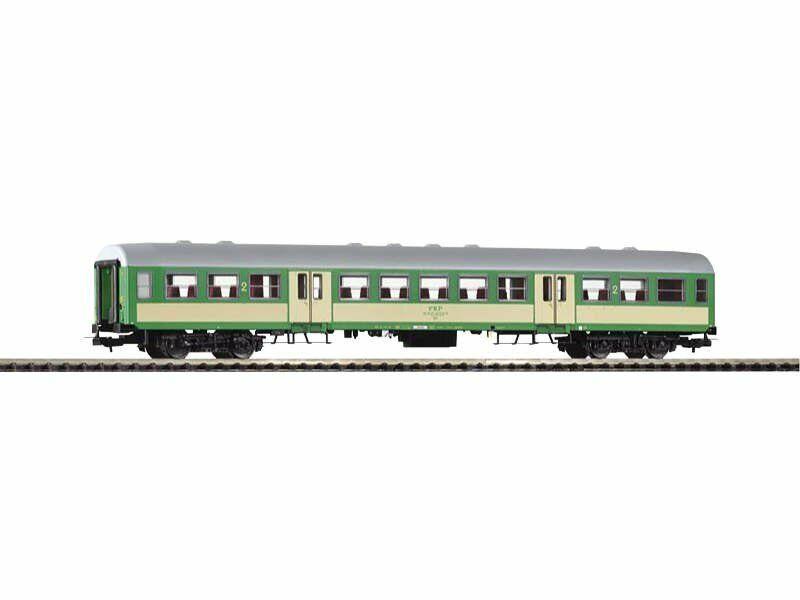 PIKO 96650 vagoni 120a 2. classe BDH delle PKP, EPOCA VI, traccia h0
