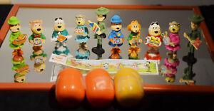 Vintage-1995-Lot-of-13-KINDER-EGG-SURPRISE-Yogi-Bear-Hanna-Barbera-Paper-Ferrero