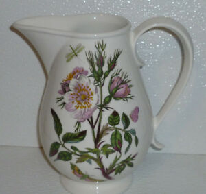 Portmeirion-Pitcher-Jug-BOTANIC-GARDEN-30-Oz-Romantic-Rose-7-034
