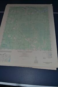 1940's Army topo map Kilsock Bay South Carolina -Sheet 5150 IV SW