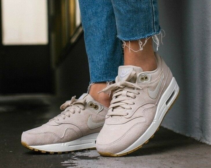 WOMENS NIKE AIR MAX 1 SD SIZE 6 (919484 100) BEIGE OATMEAL