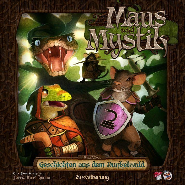 Souris et superstitions-histoires de l'Sombre Forêt-Jeu-Heidelberger-Neuf dans sa boîte