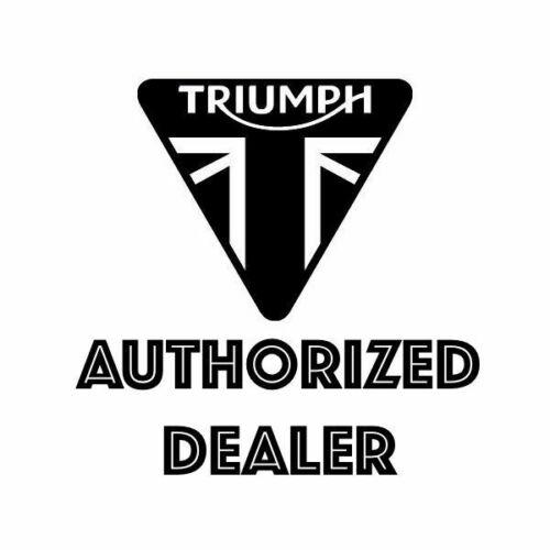 GENUINE TRIUMPH HENRY KNIT JUMPER BLACK GREY MKWA18021 XL SALE