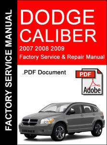 manual dodge caliber 2007 español