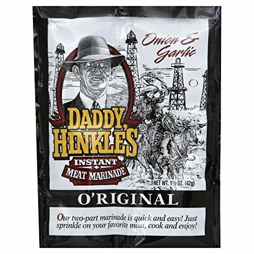 Daddy Hinkle/'s O/'riginal Marinade Single Serve Packets 24 Packets