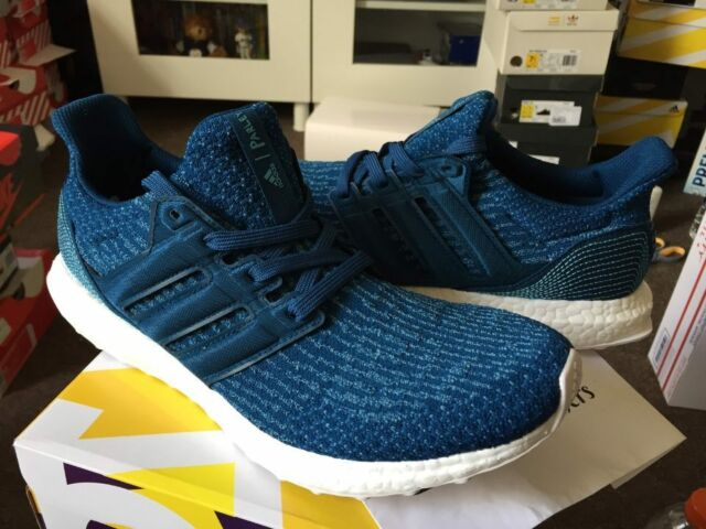 b30f7528607 Adidas Ultra Boost M LTD 3.0 x Parley Core Night Navy Intense Blue Ocean  BB4762