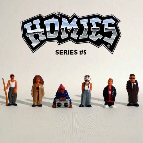 Rarität Series #5 Set 4-1:32-4,5 cm NEU OVP Homies Figuren // Figures