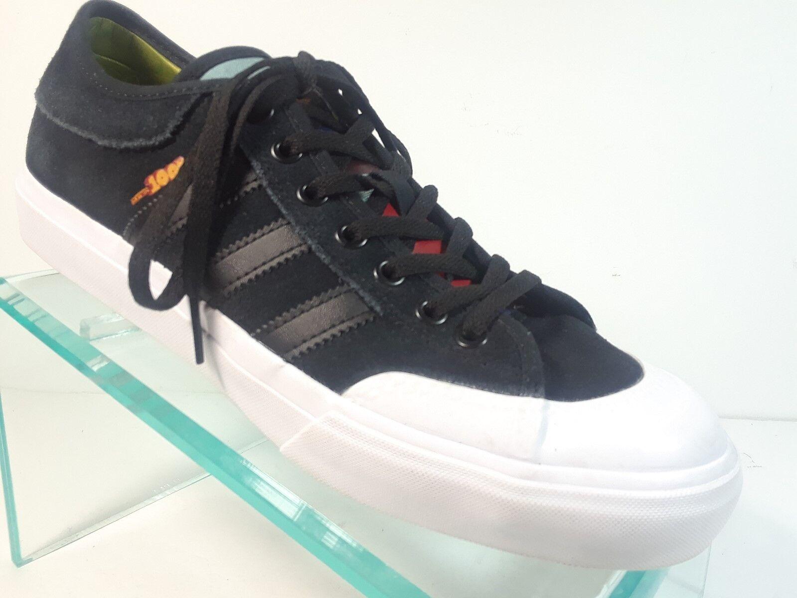 Adidas Matchcourt Zumiez 100K 2017 Black Suede Men's Size 8.5 M