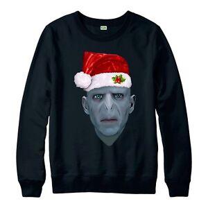 Harry-Potter-Christmas-Jumper-Lord-Voldemort-FETE-Adultes-amp-Enfants-Neuf