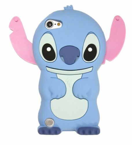 For iPod Touch 5th CUTE STITCH Soft Rubber Silicone Skin Case Cover 6th Gen