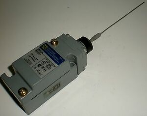 ELECTRICAL-LIMIT-SWITCH-SQUARE-D-9007C54L-9007-C54L-WIRE-WHISK-WHISKER-ACTUATOR