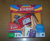 2011 Hasbro Scrabble Slam Card Game Electronic Spelling Game - Free Shipping