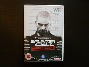 Nintendo Wii Tom Clancy's Splinter Cell Double Agent PAL complet Vers. EUR / UKV