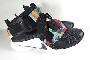 best sneakers 4d48c 2afca Nike Lebron Soldier IX 9 BHM Black History Month Shoes Size 16.5 ...