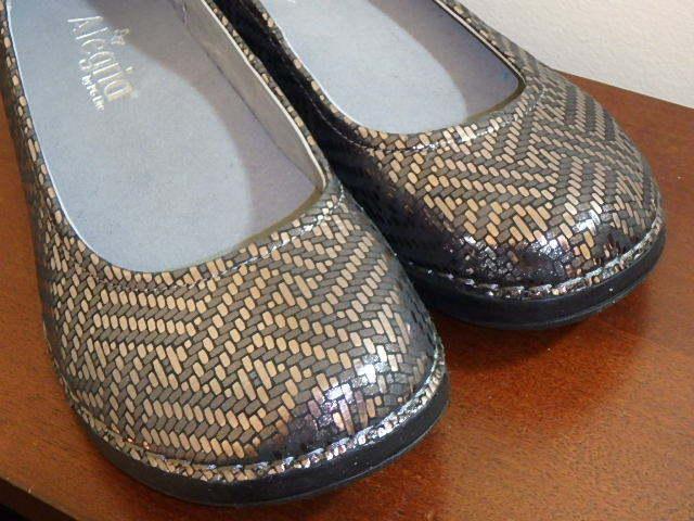Alegria Estaño Estaño Estaño Dazzler Resbalón en Zapatos Bajos Zapatos Pétalos de cuero Talla 6 Nuevo Sin Caja  envío rápido en todo el mundo