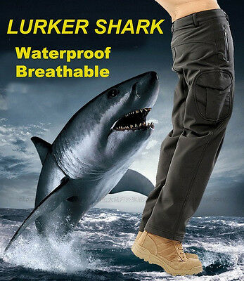 Tactical Pants Lurker Shark Skin Soft Shell Pant Sport Outdoor Hiking Waterproof