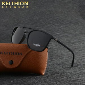 KEITHION-TR90-Polarized-Mens-Women-Sunglasses-Matte-Texture-UV400-Driving-Glass