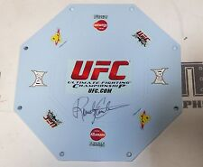 Randy Couture Signed Official UFC Toy Octagon Ring Cage PSA/DNA COA Autograph 43