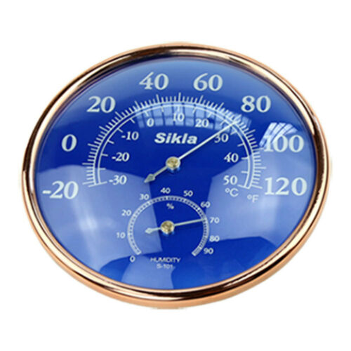 Large Indoor Outdoor  Hygrometer Temperature Meter Test Thermometer Wall  /&