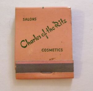 Vintage Salon Charles Of The Ritz Cosmetics Advertising