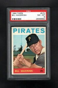1964-TOPPS-570-BILL-MAZEROSKI-HOF-PITTSBURGH-PIRATES-PSA-8-NM-MT-SHARP-CARD