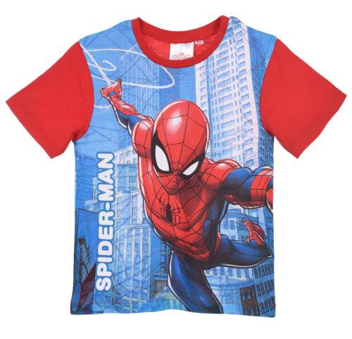 Marvel Avengers Boys Short Sleeve T-Shirt Hulk Ironman Black Panther Spiderman