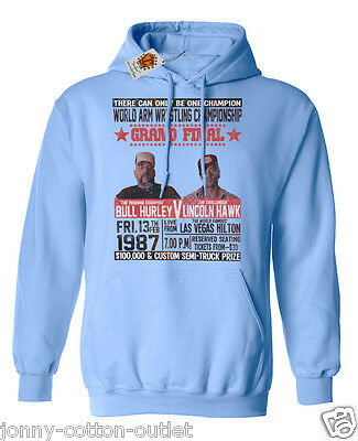 Lincoln Hawk Haulage Over The Top Truck Inspired Mens Sweater Arm Wrestling