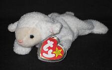 19c31e1cac2 Ty Beanie Baby Fleece Lamb Beanbag Plush Original Tag 1996 PE 4th Gen 4125
