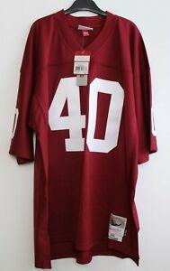 Mitchell-amp-Ness-Camiseta-40-Pat-Tillman-Talla-XL-Arizona-Cardinals-NFL-Rot