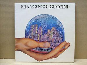 FRANCESCO-GUCCINI-METROPOLIS-33-RPM-LP-EMI-1981