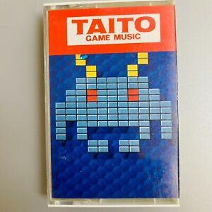 Rare TAITO Game Music Soundtrack Space Invaders etc. Retro NES Cassette Tape