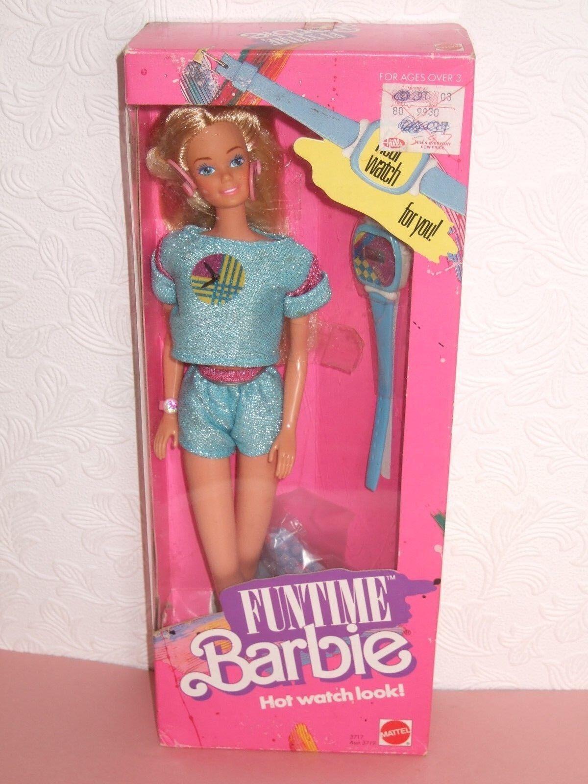 HTF VINTAGE Barbie NRFB 1986 FunTime Barbie... Lovely doll