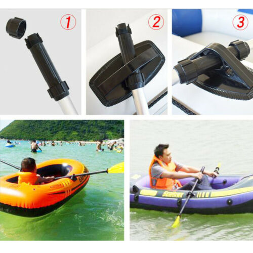 Kayak Paddles Foldable Rafting Inflatable Boat Oars Lightweight Dinghy Paddle