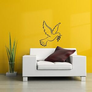 Dove silhouette wall art decal stickers   eBay