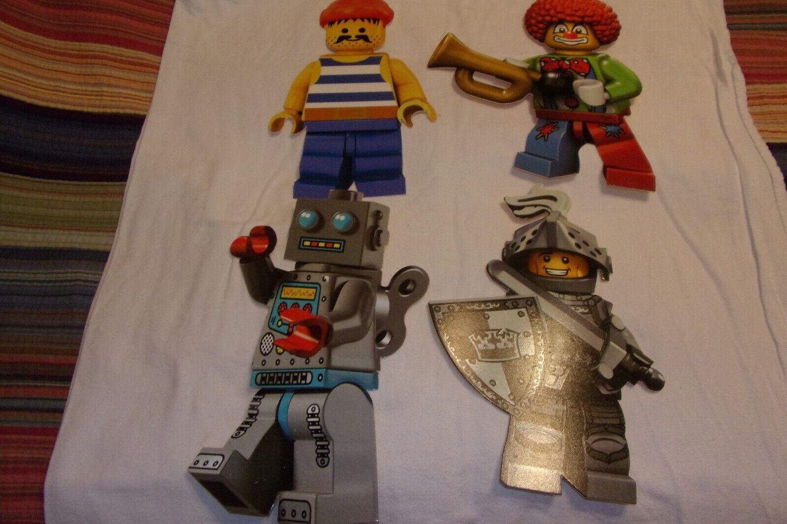 15  Lego Juguetes R Us signo de exhibición de la tienda juego de Cocheacteres Payaso robot Caballero Pirata