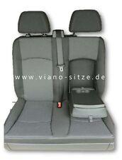 Vito Viano Beifahrer Doppelsitz Lima schwarz 9G66 W639 Sitz Sitze viano-sitze