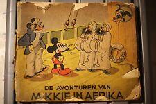 DE AVONTUREN VAN MIKKIE IN AFRIKA (1937)