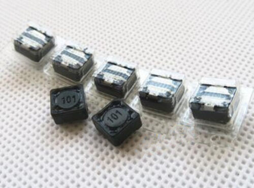 50 pcs 7*7*4MM 100uH SMD Shielded Power Inductors