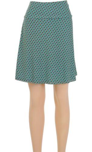 King Louie Retro Rock blau grün Boarder-skirt Diamond blue tint 6105637