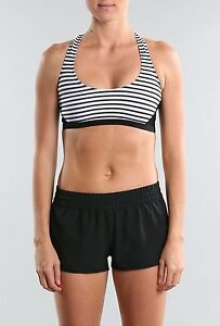 RUSTY-PANTHER-CROP-TOP-WHITE-STRIPE-TALLA-SIZE-10-M