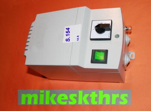 Drehzahlregler Lüfterregler 230V 14A 5 Stufen  .S.154 ............Stufenregler
